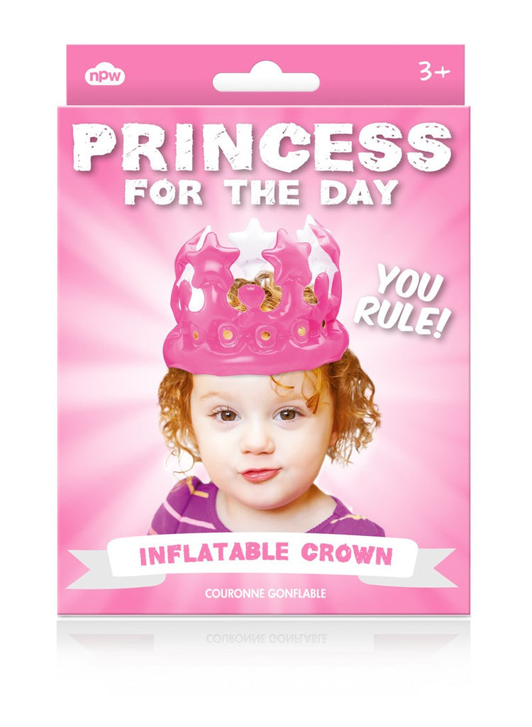 "Inflatable Crown ""Princess for a Day"""
