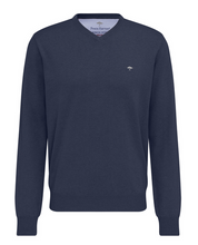 Load image into Gallery viewer, Fynch Hatton Night V-Neck Knit