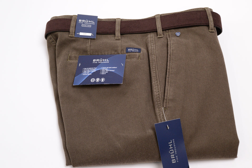 Bruhl Montana Brown Chino