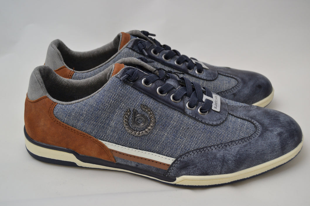 Bugatti Denim Blue Casual Trainer