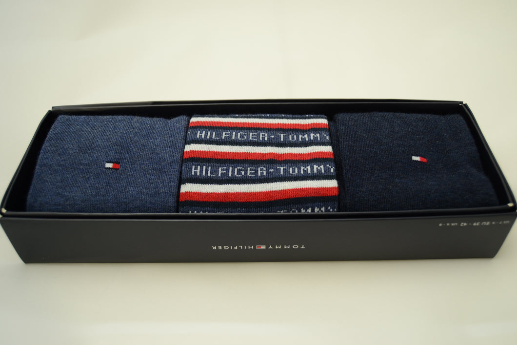 Tommy Hilfiger Socks (Box of 3) Jeans Blue