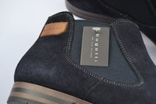 Load image into Gallery viewer, Bugatti Navy Suede Chelsea Boot
