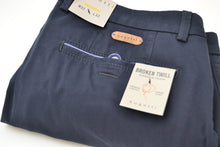 Load image into Gallery viewer, Bugatti Navy Summer Cotton Chino
