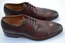 Load image into Gallery viewer, Morgan & Co. Laced Toecap Wine Shoe