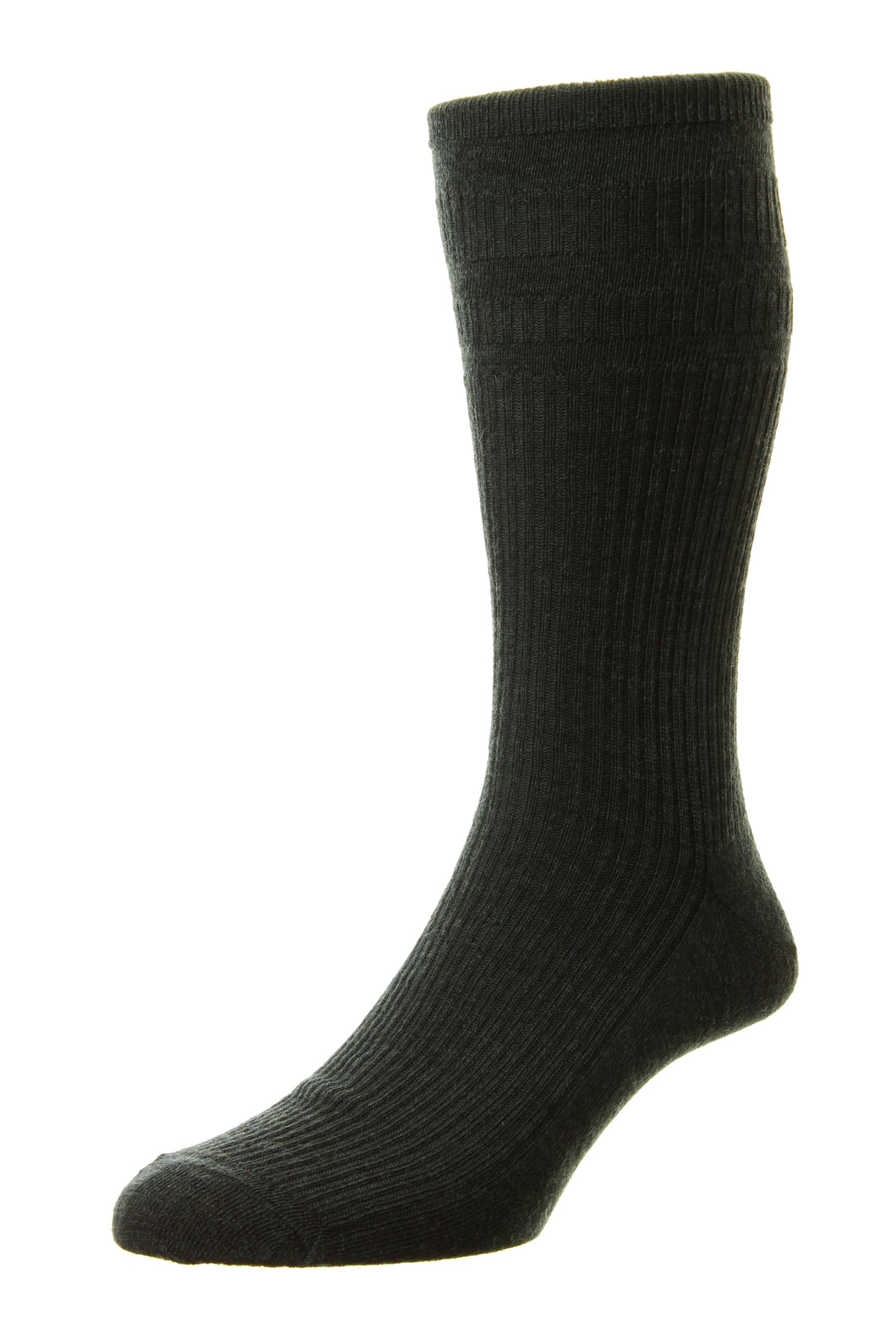 HJ90 Charcoal. The Original Wool Softop Sock, size 6-11