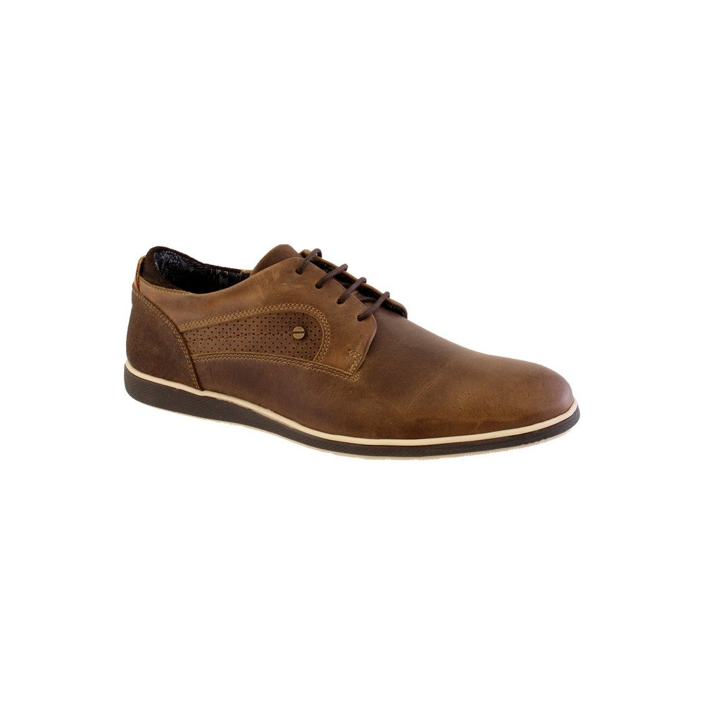 Morgan & Co. Taupe Lace Casual Shoe