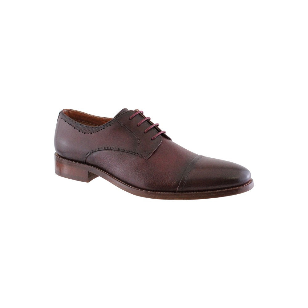 Morgan & Co. Laced Toecap Wine Shoe