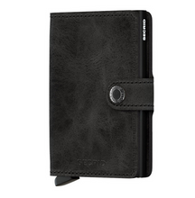 Load image into Gallery viewer, SECRID Vintage Black Mini Wallet