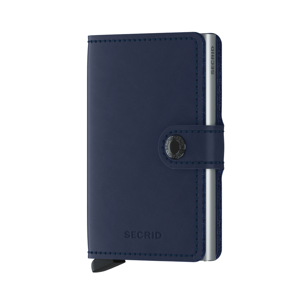 SECRID Original Navy Mini Wallet