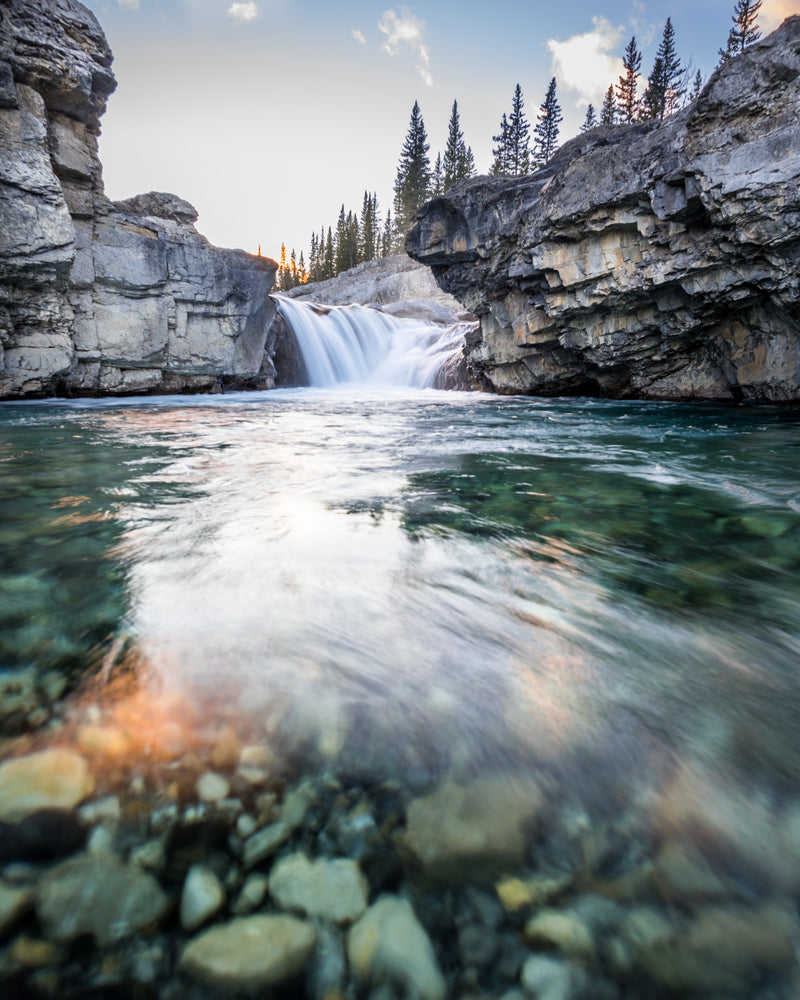 Elbow River Falls, Alberta Nature Photography, Wall Art
