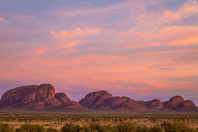 Kata Tjuta, Australian Outback, Northern Territory, Travel Landscape Photography