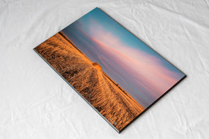 Alberta prairie grain bin wall art sample