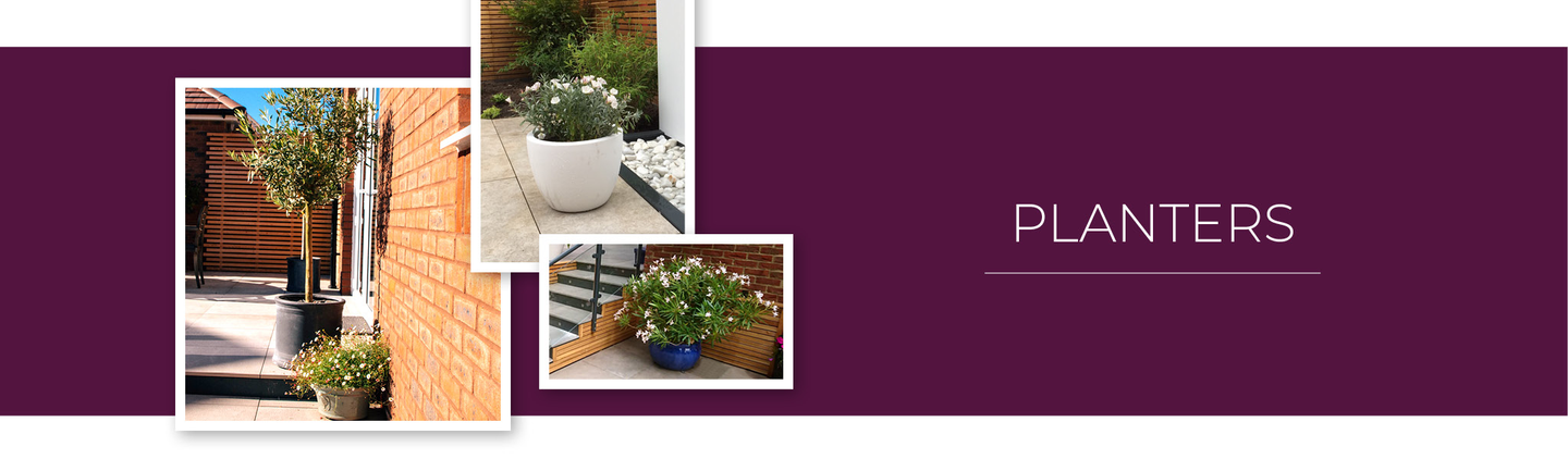 Contemporary made to order planters from iGarden Vision
