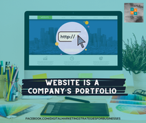 Website Is A Company's Portfolio