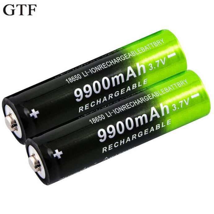 3.7V 18650 9900mAh Rechargeable Battery