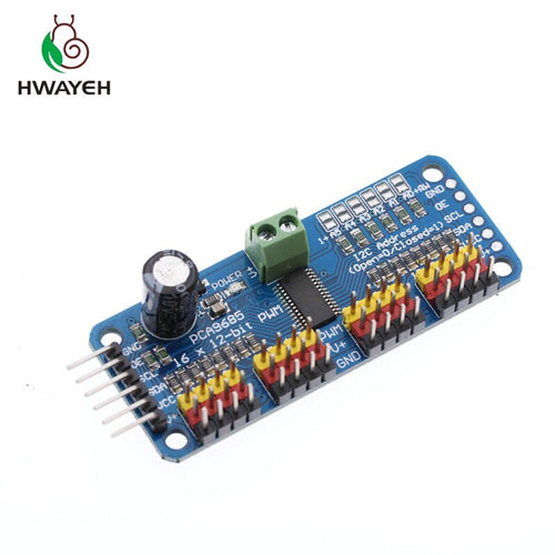 Servo Driver board - 16 Channel PCA9685