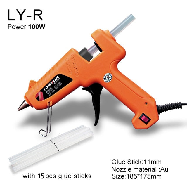 Hot Glue Gun 30W With Free Glue Sticks