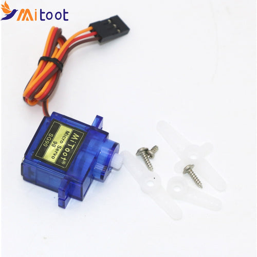1pcs Mitoot RC Micro Servo 9g SG90 Servo For Arduino Aeromodelismo Align Trex 450 Airplane Helicopters Accessories