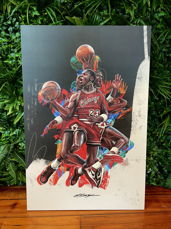 "Jordan Legendary - 24x36"" Canvas Print"