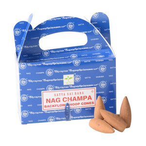 Nag Champa - Backflow Incense Cones (24)