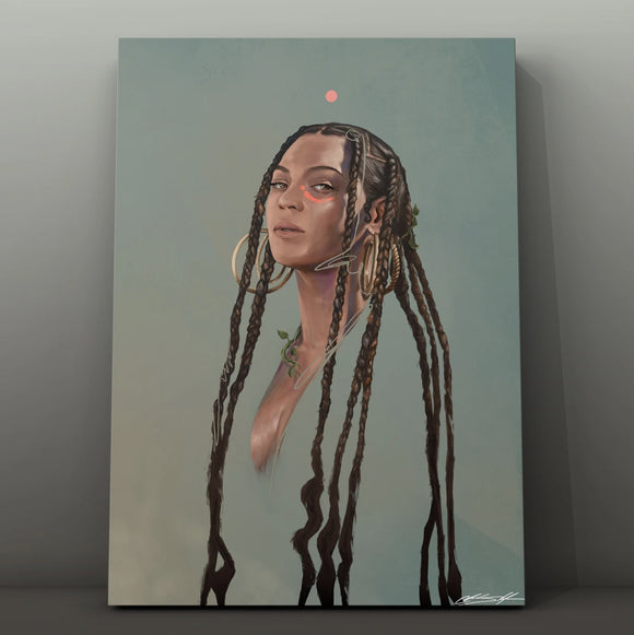 Beyoncé: Houston Made - Chuck Styles: Canvas Print (24x36)