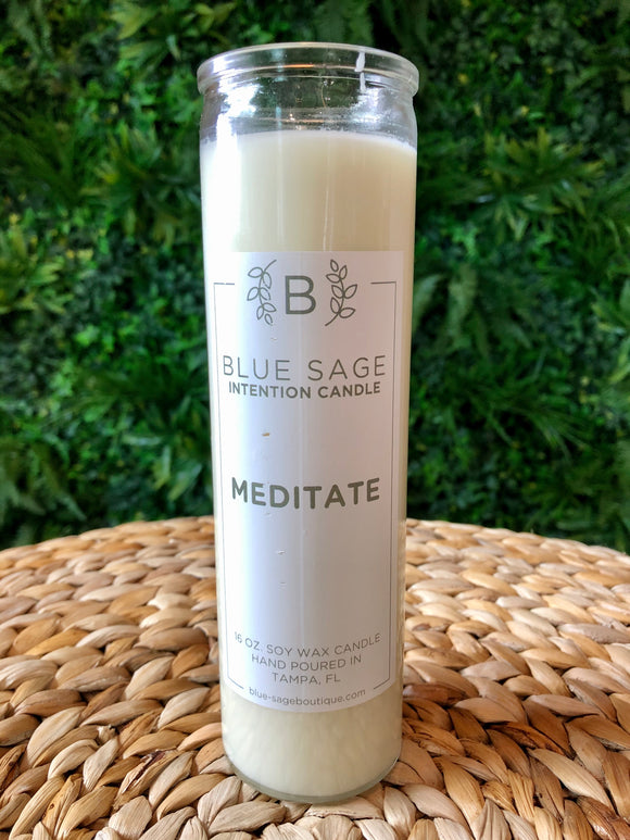 Meditate Intention Candle