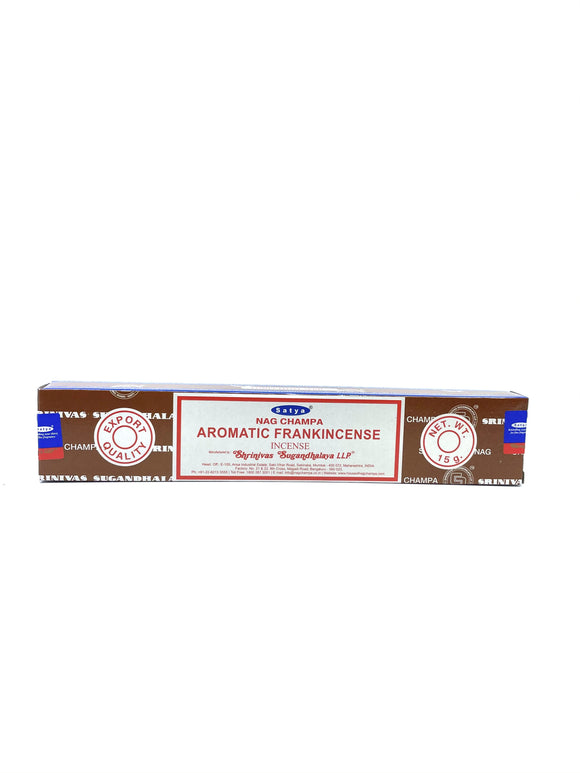 Nag Champa Aromatic Frankincense - 14 Incense sticks