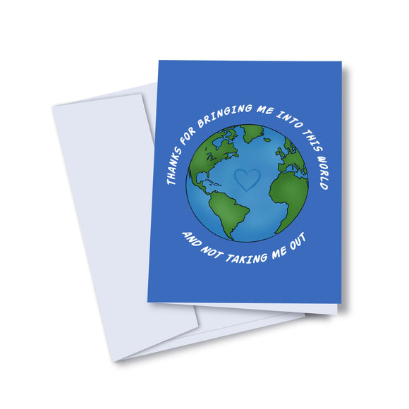 Into this world - Kaleidadope Greeting Card