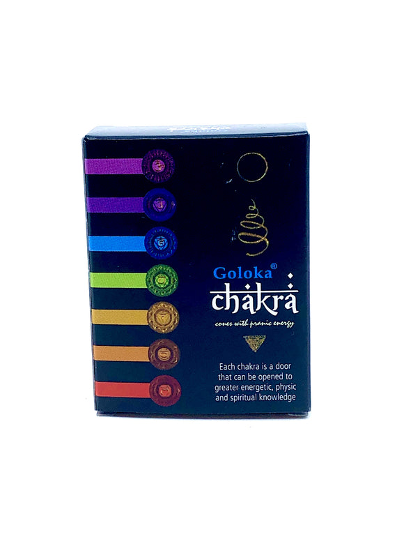 Chakra - Incense Cone (12 pack)
