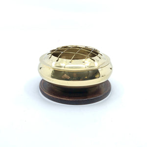 Brass Screen Charcoal Burner - 3 inch