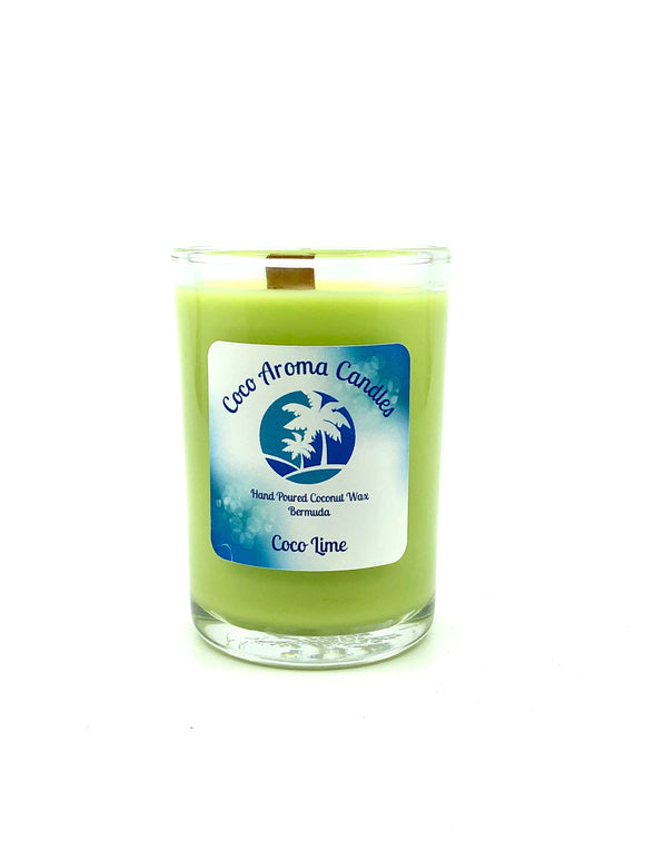 Coco Aroma Candles - Coco Lime