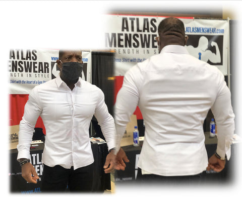 Atlas Menswear at the Mr. Olympia