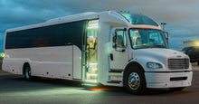 Load image into Gallery viewer, 45 Passenger Freightliner Party Bus - NY Wine Tours