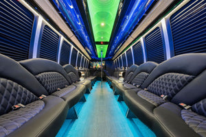 45 Passenger Freightliner Party Bus - NY Wine Tours