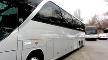 Load image into Gallery viewer, 56 Passenger Setra Mercedes-Benz Shuttle Bus - NY Wine Tours