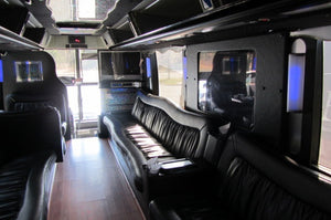 56 Passenger Prevost Lounge Party Bus - NY Wine Tours