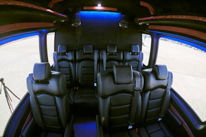 10 Passenger Mercedes-Benz Sprinter Wheelchair Accessible Shuttle Bus - NY Wine Tours