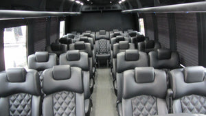27 Passenger Executive Luxury Shuttle Bus - NY Wine Tours