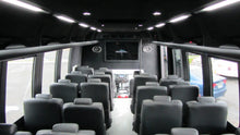 Load image into Gallery viewer, 27 Passenger Executive Luxury Shuttle Bus - NY Wine Tours