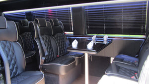 14 Passenger Mercedes-Benz Sprinter Luxury Shuttle Bus - NY Wine Tours