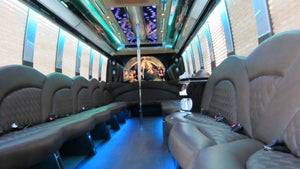 33 Passenger Ford F550 Party Bus - NY Wine Tours