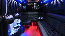 Load image into Gallery viewer, 12 Passenger Mercedes-Benz Sprinter Party Bus - NY Wine Tours