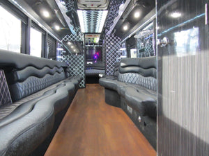 37 Passenger Freightliner Party Bus - NY Wine Tours