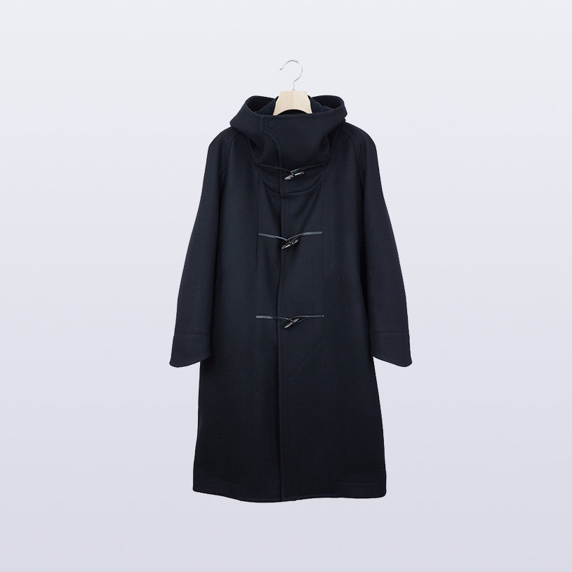 Toggle Calm Coat / BLACK