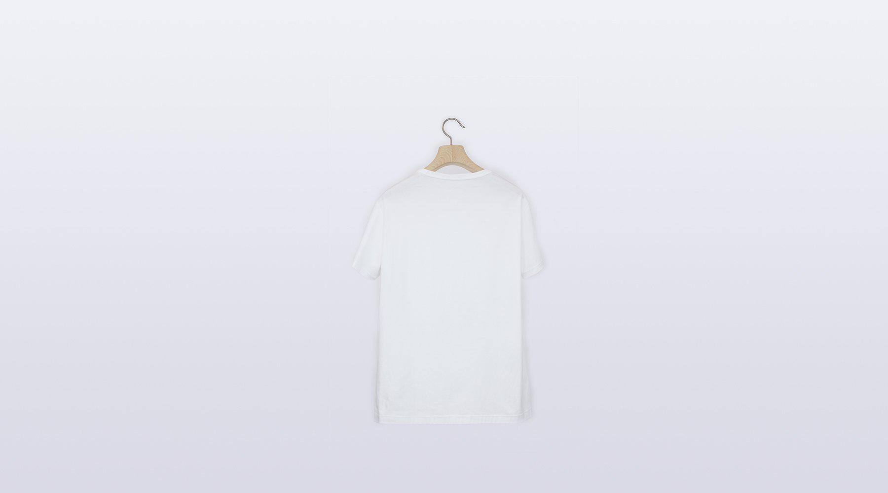 TS Plain / WHITE