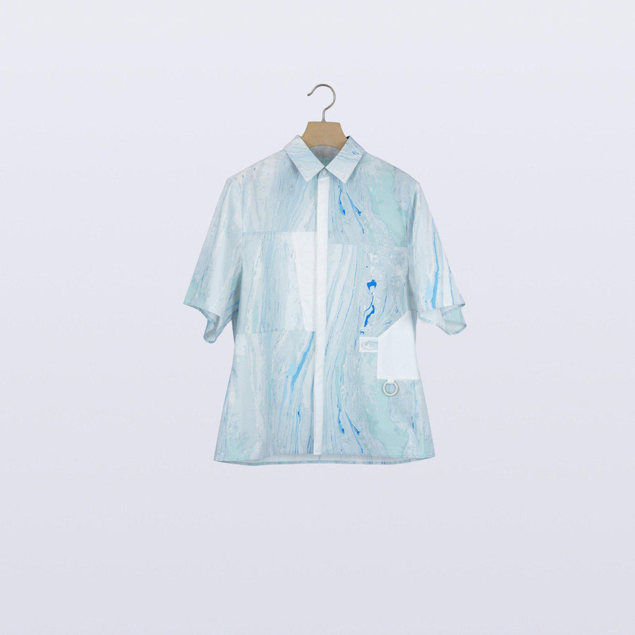 Surface Tri Shirt / BLUE