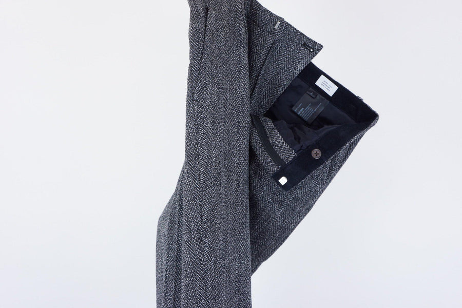 Owl Trousers / BLACK
