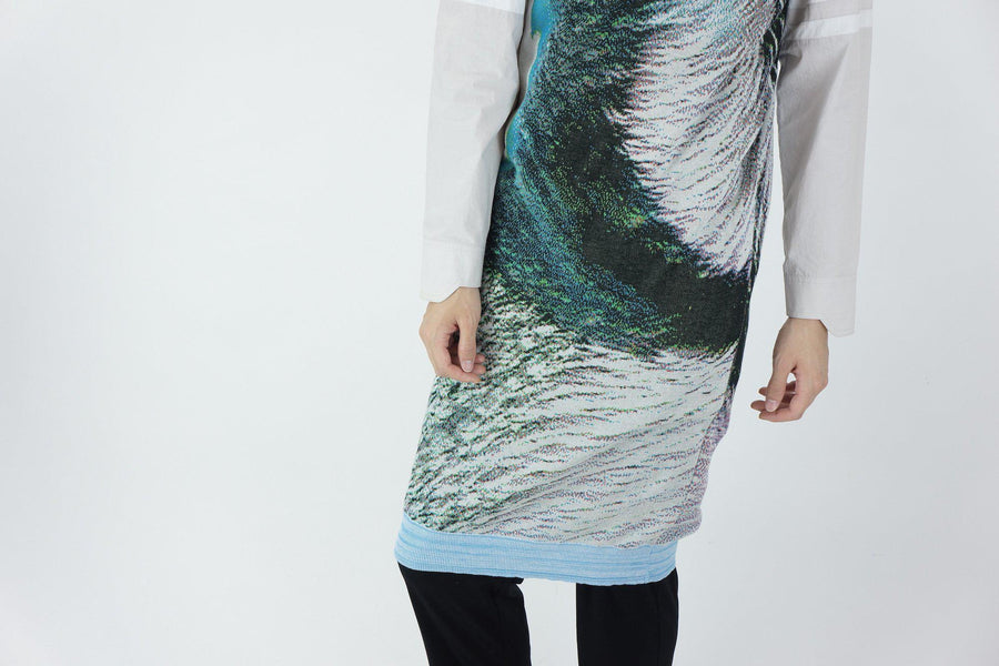 Syn Feather Robe / HALCYON
