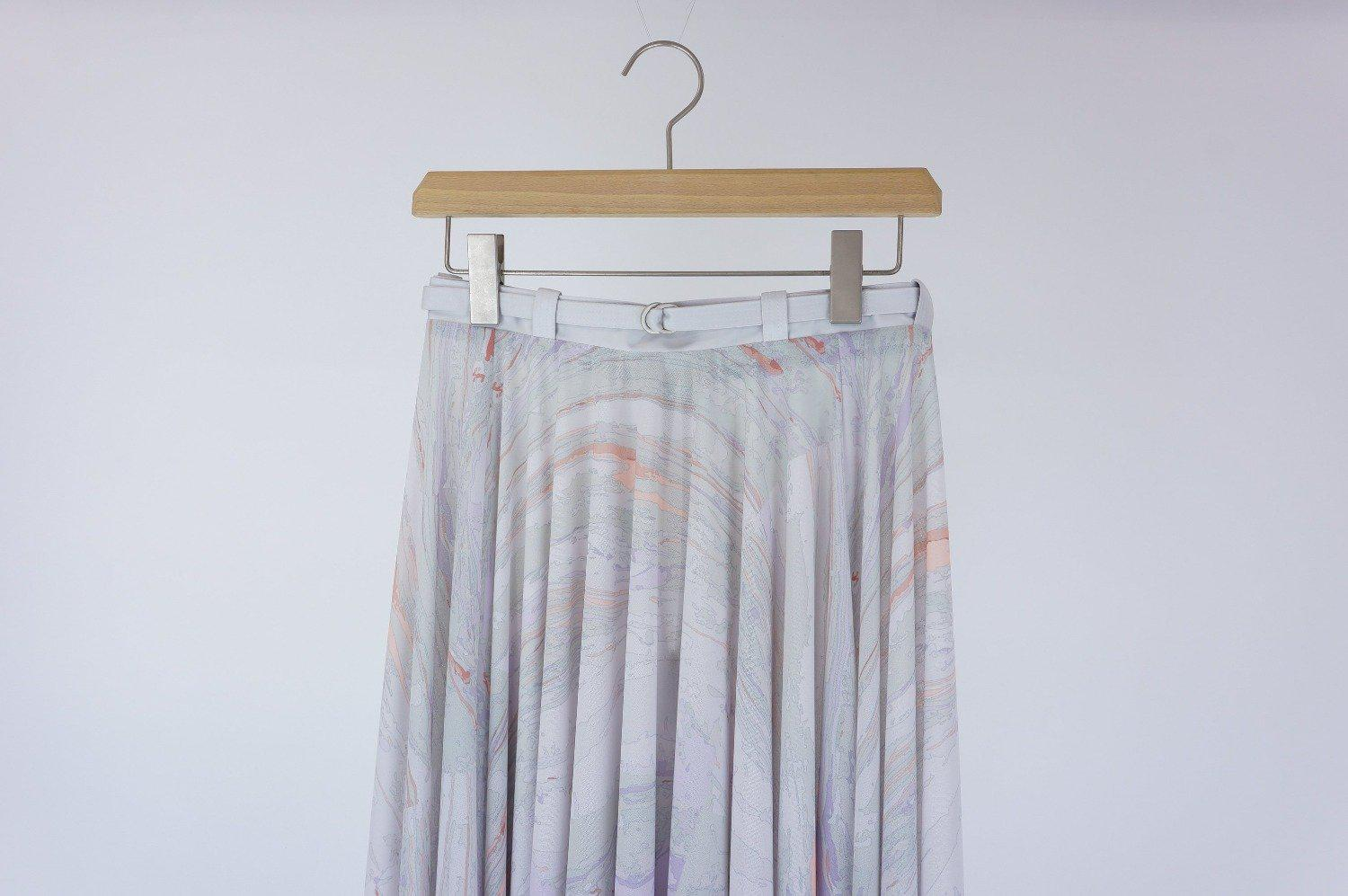 Surface Sway Skirt / BEIGE