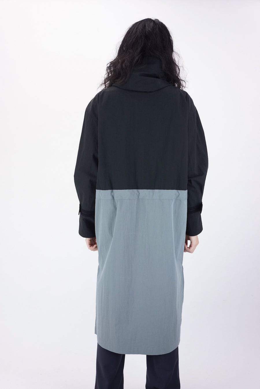 Ornis Over Coat / BLACK